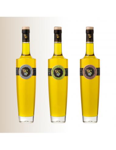 Trio Huiles d'Olive 50 cl - Domaine Souviou
